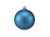 Deco Ball 7cm, blue, matt 6x