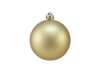 Deco Ball 7cm, gold, matt 6x