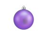 Deco Ball 7cm, purple, matt 6x