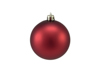 Deco Ball 7cm, red, matt 6x