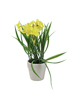 Daffodil, artificial plant, 22cm