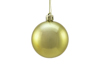 Deco Ball 6cm, gold, metallic 6x