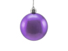 Deco Ball 6cm, purple, metallic 6x