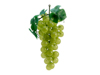 Grapes with leaves, artificial, green