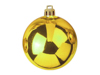Deco Ball 10cm, gold 4x