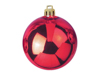 Deco Ball 10cm, red 4x