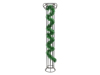 Tinsel metallic, green, 7,5x200cm