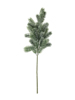 Europalms Fir branch, snowy, PE, 65cm