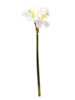 Amaryllis branch, artificial, white, 72cm
