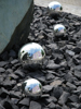Europalms Deco Ball 20cm, silver