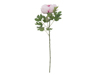 Europalms Peony Branch classic, artificial plant, pink, 80cm