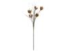 Artichoke Branch (EVA), artificial, beige, 100cm
