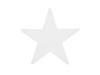 Silhouette Star, white, 58cm