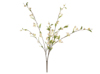 Cherry spray, artificial, white, 60cm