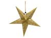 Star Lantern, Paper, gold, 75 cm