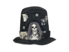 Halloween Costume Top-Hat with Skull