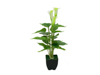 Mini Calla, artificial plant, white, 43cm