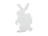 Silhouette Easter Rabbit, white, 60cm