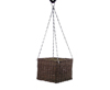 Cubic flower pot, hanging or standing