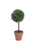 Grass ball tree, artificial, PE, 39cm
