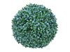 Grass ball, artificial, blue, 22cm