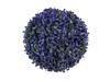 Grass ball, artificial, violet, 22cm
