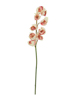 Cymbidium branch, artificial, creme-pink, 90cm
