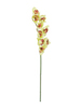 Cymbidium branch, artificial, green, 90cm