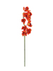 Cymbidium branch, artificial, red, 90cm