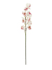 Cymbidium branch, artificial, white-pink, 90cm