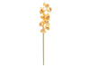 Cymbidium branch, artificial, yellow, 90cm