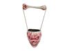 Europalms Halloween Hanging Skull, 17cm