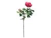 Europalms Peony Branch premium, artificial plant, magenta, 100cm
