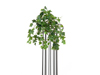 Ivy bush tendril premium, artificial, 50cm
