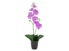 Orchid, artificial plant, purple, 57cm