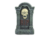 Halloween tombstone with skull, 56cm