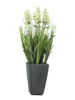 Lavender, artificial plant, cream, in pot, 45cm