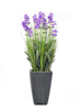 Lavender, artificial plant, purple, in pot, 45cm