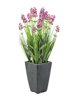 Lavender, artificial plant, rose, in pot, 45cm
