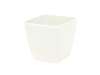 Deco pot LUNA-20, rectangular, white