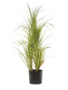 Dracena bush, with black Pot, artificial, 80cm
