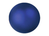 Deco Ball 3,5cm, dark blue, metallic 48x