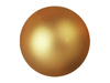 Deco Ball 3,5cm, gold, metallic 48x