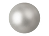 Deco Ball 3,5cm, silver, metallic 48x