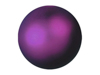 Deco Ball 3,5cm, violet, metallic 48x