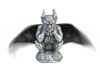 Halloween Gargoyle, animated, 31cm