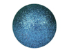 Deco Ball 3,5cm, blue, glitter 48x