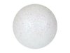 Deco Ball 3,5cm, white, glitter 48x