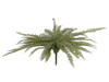 Boston fern, artificial plant, green, 70cm