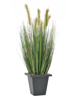 Moor-grass in pot, artificial, 60cm